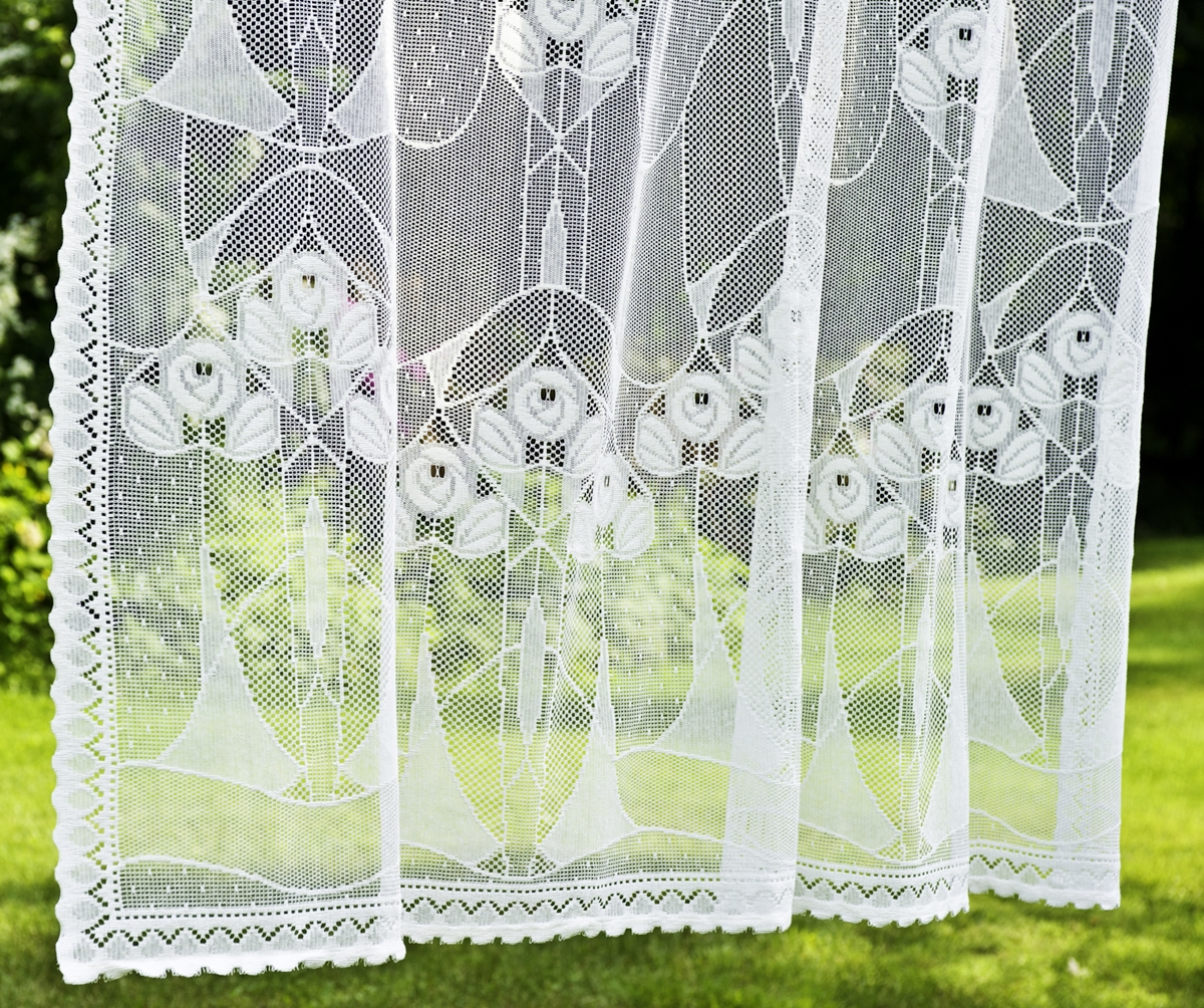 Alice Nottingham Lace Curtain