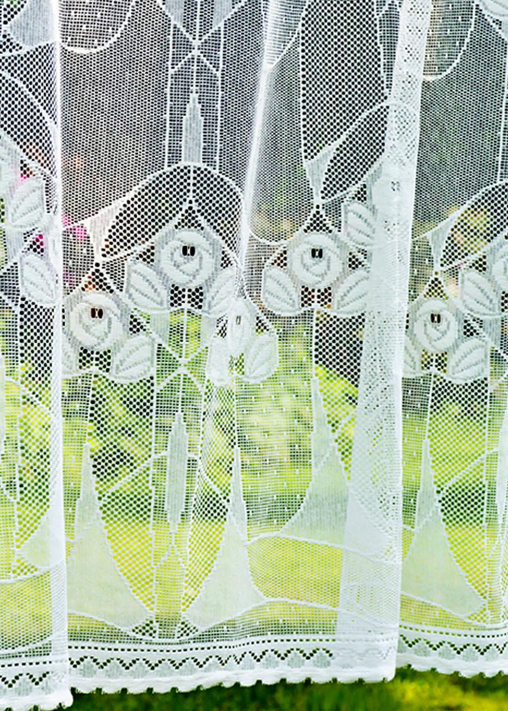 alice nottingham lace curtain