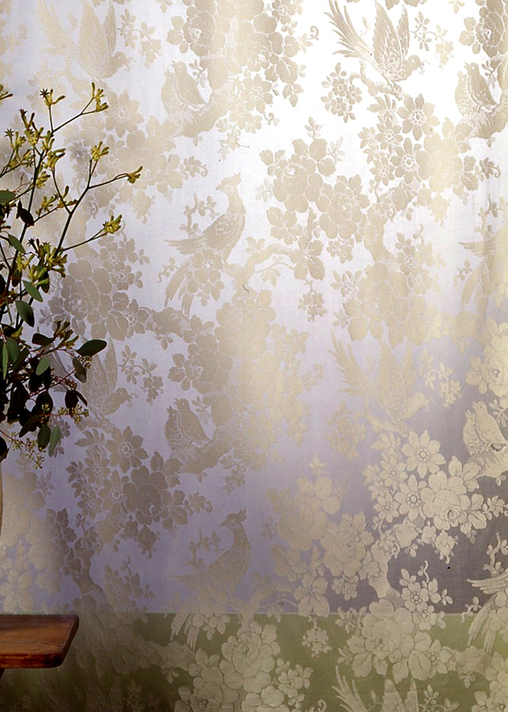 Aviary Madras Lace Curtain Amp Yardage Direct From London