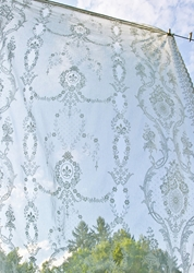 Beatrice Nottingham Lace Curtain