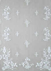 Deco Nottingham Lace Curtain