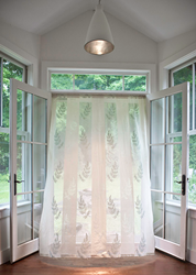 Fern Madras Lace Curtain & Yardage