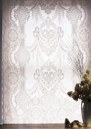 Garland Madras Lace Curtain
