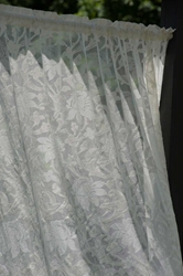 Kensington Madras Lace Curtain and Yardage