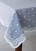 Spring Rain Madras Lace Tablecloths, Runners - MSRT-48x84