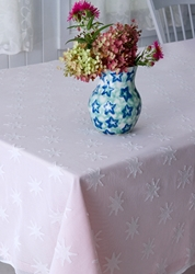 Star Madras Lace Tablecloth And Runner