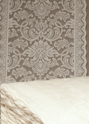 Tudor Nottingham Lace Curtain & Yardage