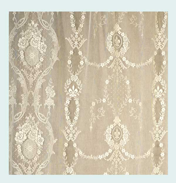 Beatrice Nottingham Lace Curtain Direct From London Lace