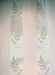 Fern Madras Lace Curtain & Yardage - MF12412-Swatch-White